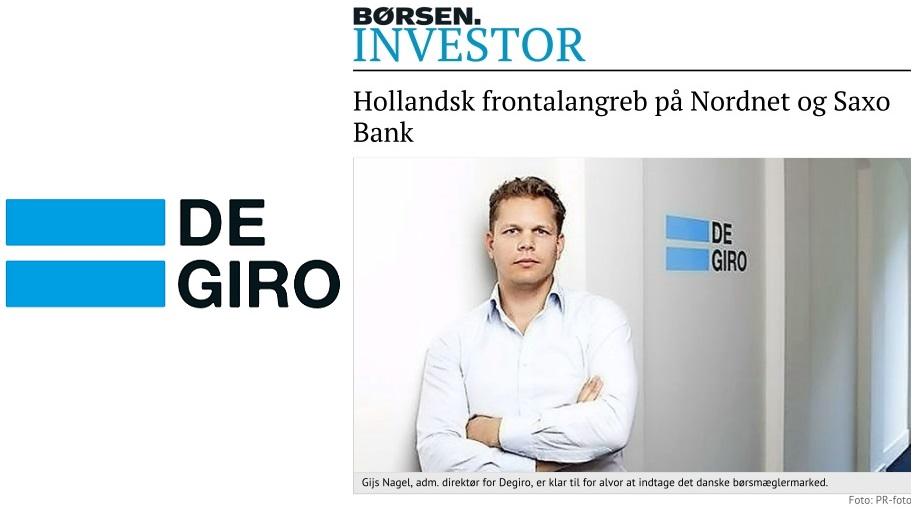 Degiro, Lancering, Mediedækning, Pressestrategi, Pressemeddelelse, Investor Relations